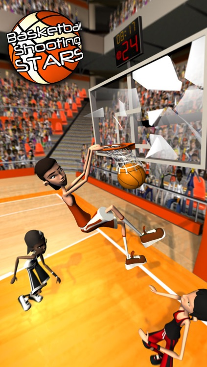 Basketball Shooting Stars screenshot-0