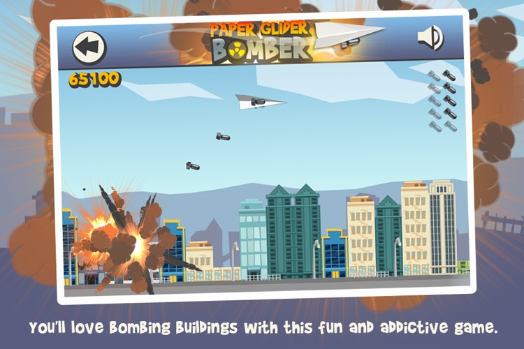 Paper Glider Bomber screenshot-1