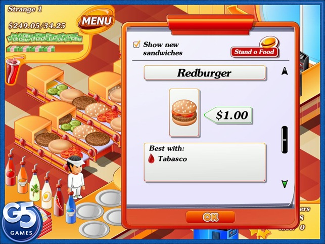Stand O'Food® HD (Full) Screenshot