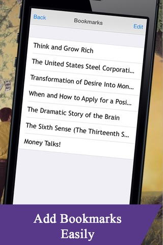 Screenshot of Napoleon Hill s : Think and Grow Rich