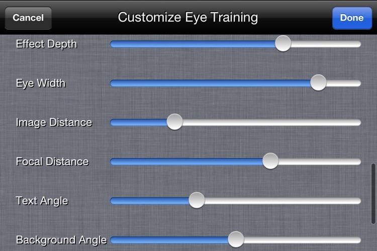 3D-Anime EYE trainer screenshot-4