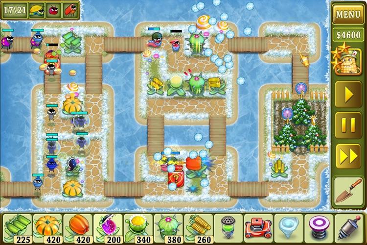 Garden Rescue Christmas edition free screenshot-3