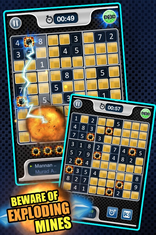 Battle Sudoku Against Friends Free screenshot-4