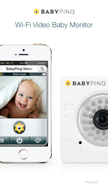 BabyPing Video Baby Monitor