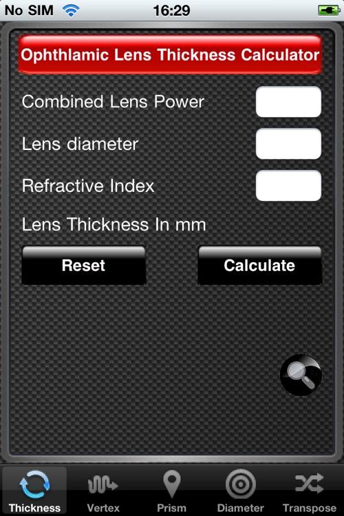 Optical Dispensing Assistant
