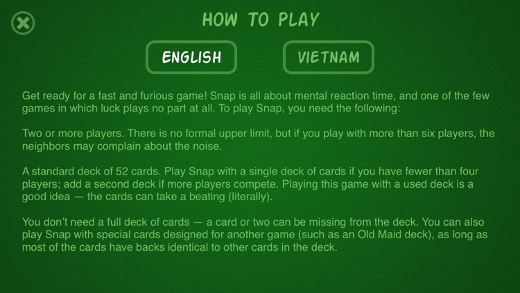 Snap Card - Multiplayer and Single player screenshot-4