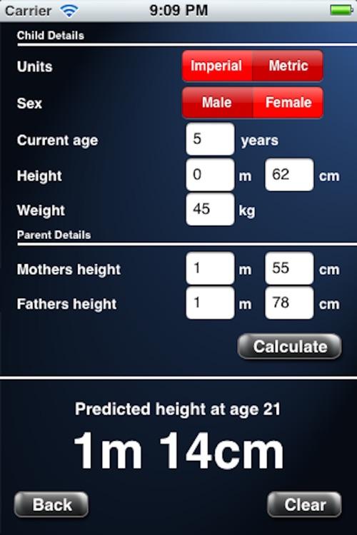 Adult Height Calculator screenshot-4