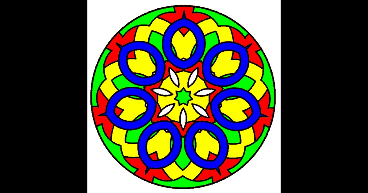 Mandala Coloring On The App Store