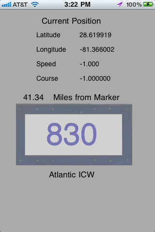 ICW Mile Markers