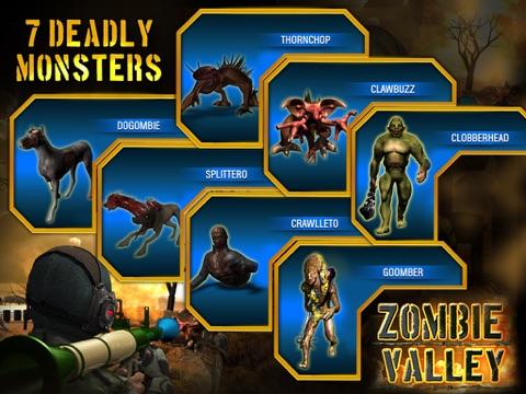 Zombie Valley HD screenshot 2