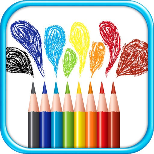 Coloring Book: For Kids!