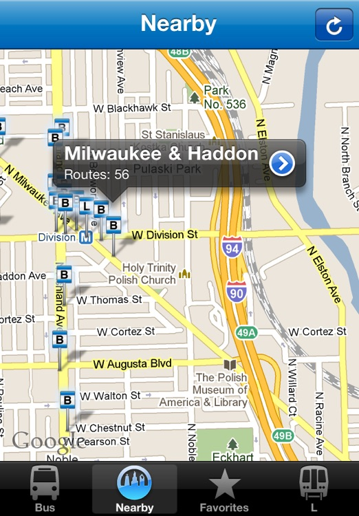 Buster: The Chicago Bus & Train Tracker screenshot-4