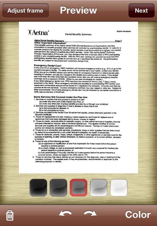 Perfect OCR: document scanner with high quality OCR screenshot-4