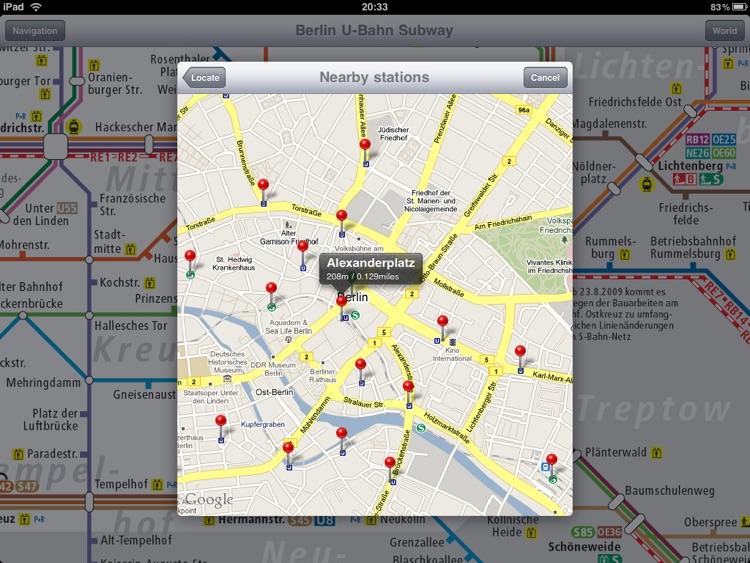 Berlin Subway for iPad screenshot-4