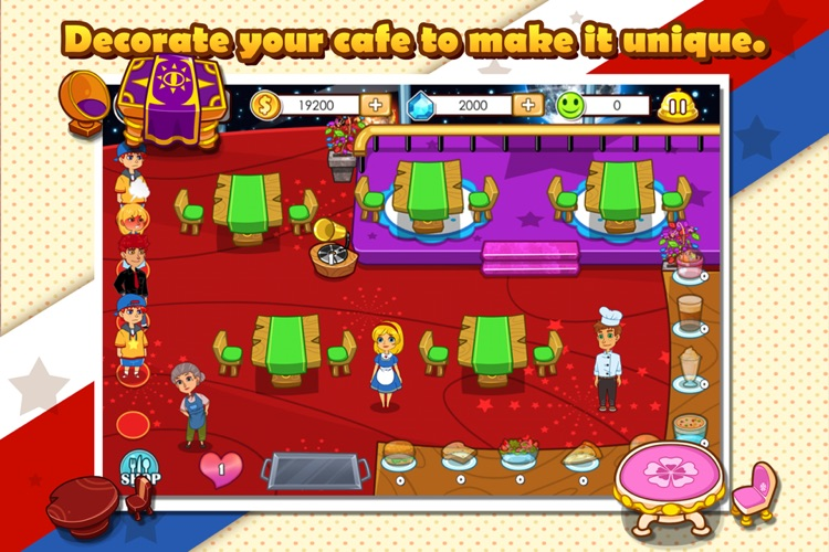 Lisa's Cafe screenshot-3