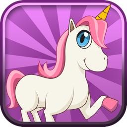 Unicorn Candy Rainbow Runner - Fun Running Game for Girls Free