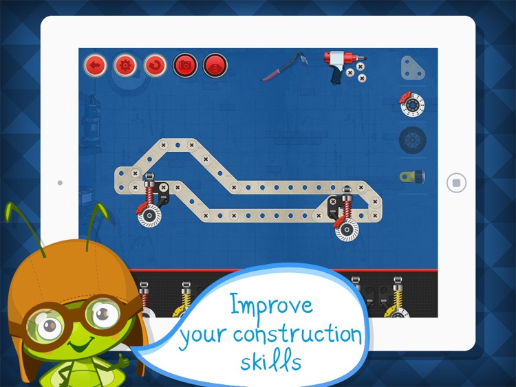 Construct a Car - Create Vehicles Puzzle Game & Driving Simulator - by A+ Kids Apps & Educational Games screenshot-4