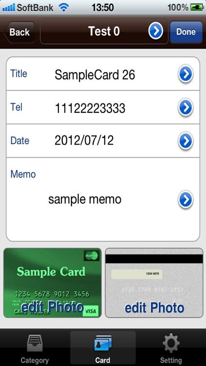 CardFolderLite screenshot-3