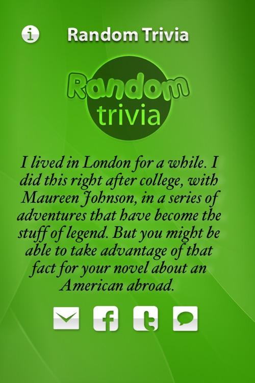 Random Trivia