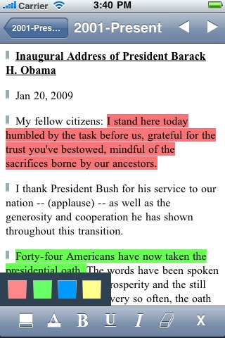 US Historical Documents & Speeches