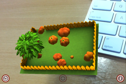 Pumpkins in a Pocket Garden screenshot 1
