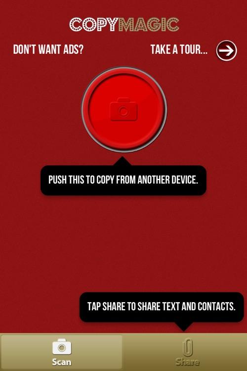 Copy Magic - Magically copy text and contacts between phones!