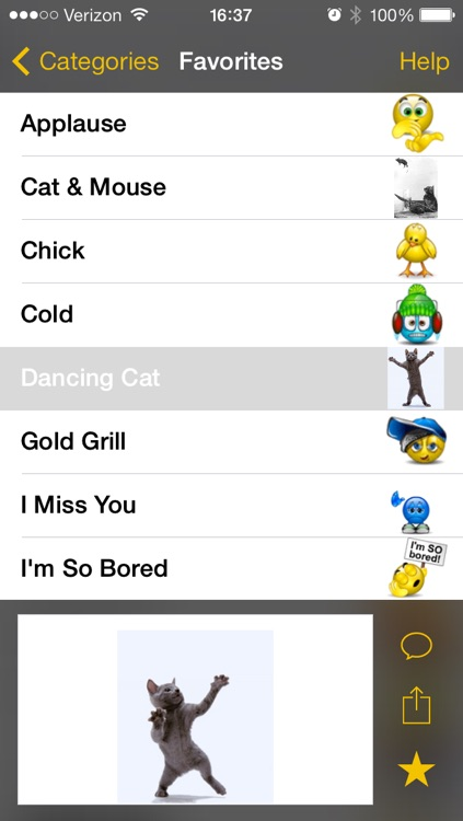 Animated Emoji | Say More in MMS and Email screenshot-4