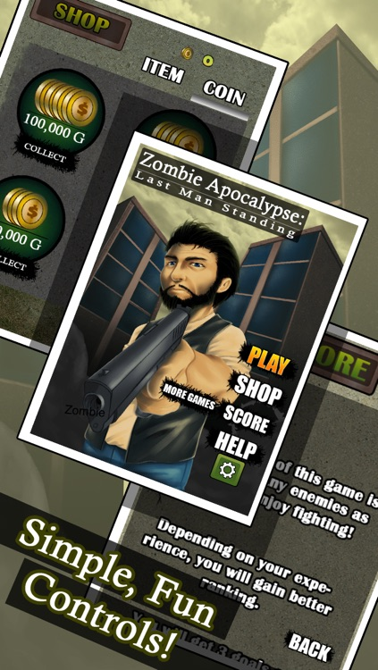 Zombie Apocalypse - Last Man Standing Free screenshot-4