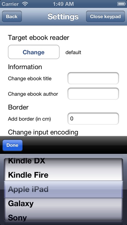 Ebook Converter screenshot-2