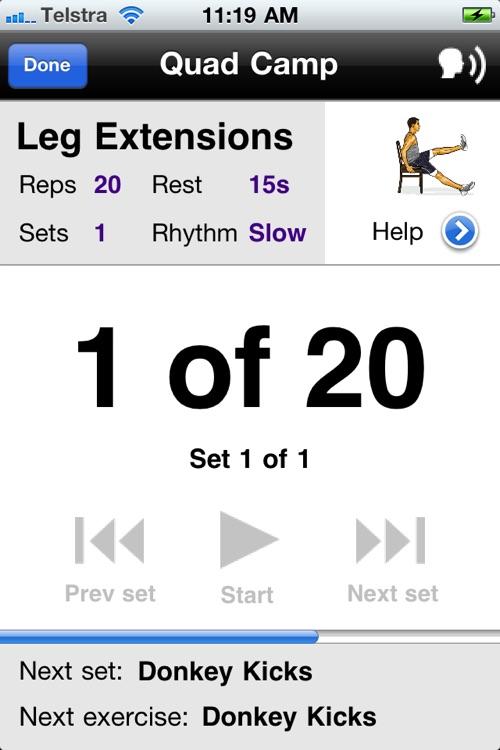 Leg Workouts Free