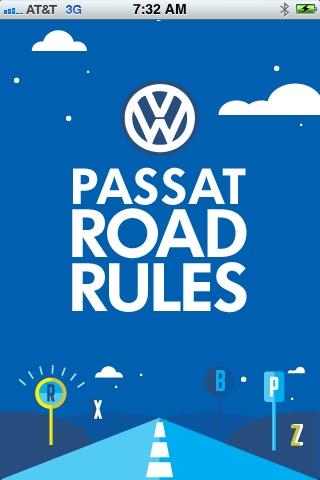 Passat Road Rules
