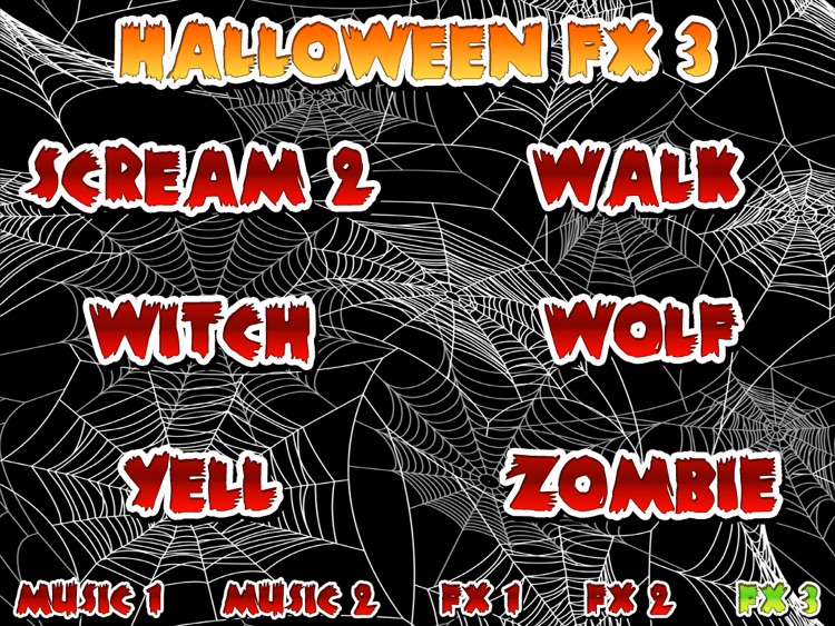 Halloween Music Creator HD screenshot-4