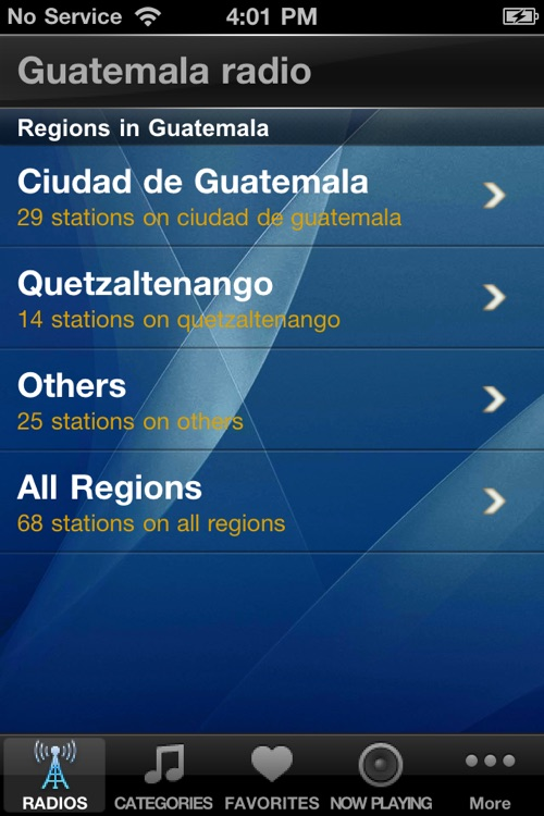 Guatemala Radio Player