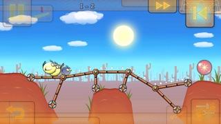 Fat Birds Build a Bridge - FREE screenshot two