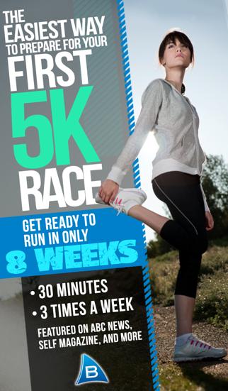 Ease into 5K: run walk interval training programのおすすめ画像1