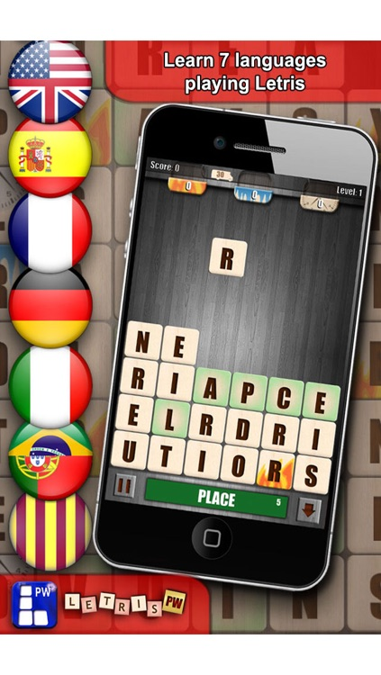 Letris Power: Word puzzle game screenshot-3