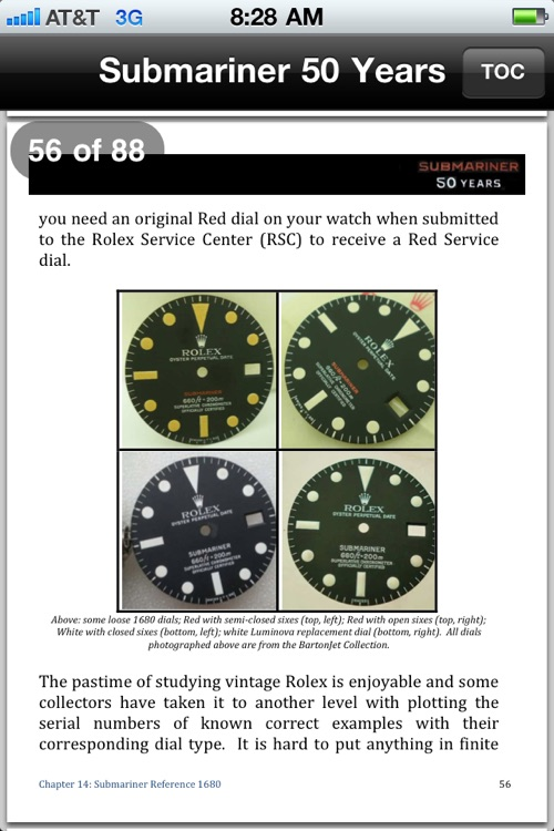 Submariner 50 Years: A Complete Guide to the Rolex Submariner (1953-2010), 2nd Ed screenshot-4
