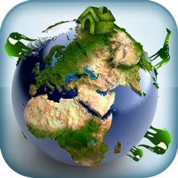 Atlasographics: Countries of World