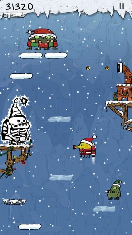 Doodle Jump Christmas Special screenshot-3