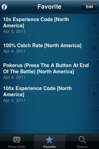 Pokemon HeartGold Cheat Code screenshot-3