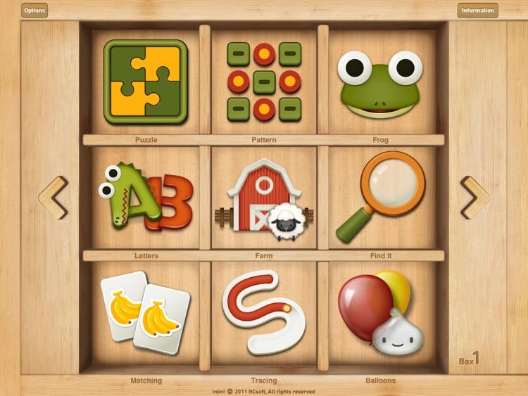 Injini: Child Development Game Suite