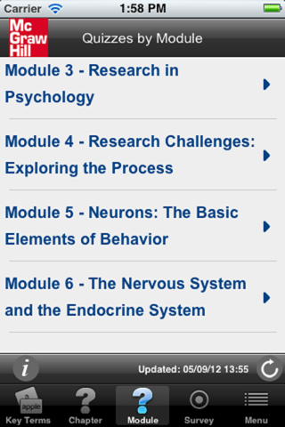 Psychology and Your Life, 2e screenshot four