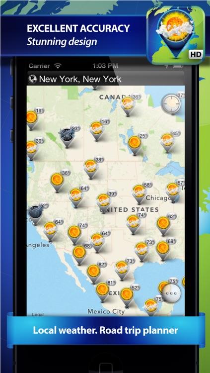 Weather Travel Map screenshot-4