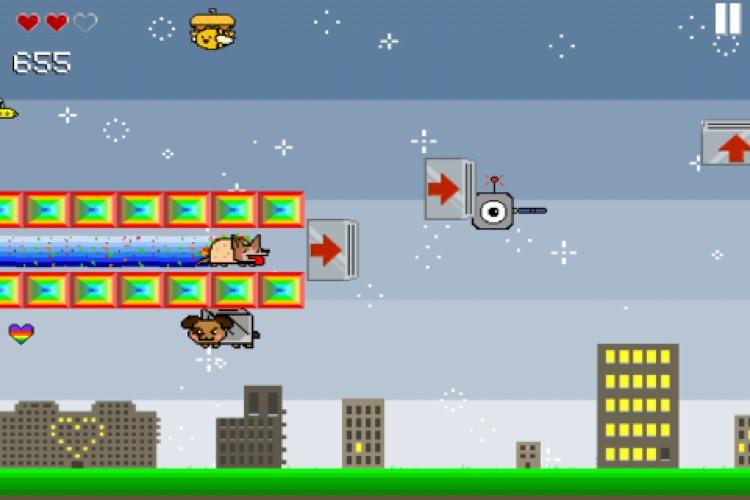 Nyan Cat Adventure screenshot-4