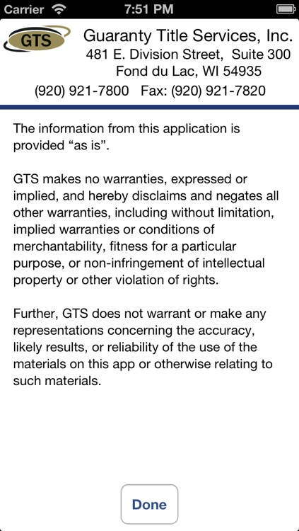 GTS Closing Cost Estimate screenshot-4