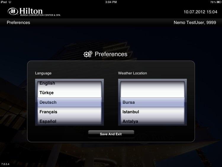 Hilton Bursa screenshot-4