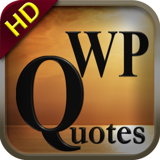 WP Quotes HD - Inspirational Wallpapers