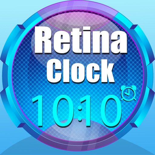 Retina Clock for iPad