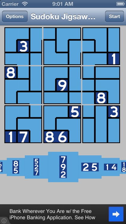 Sudoku Jigsaw Daily free puzzle game screenshot-2