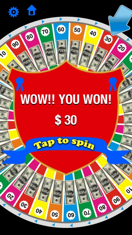 Money Wheel - Spin to win